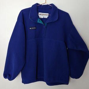 Columbia Oversized Fleece Pullover size medium